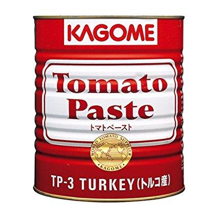 カゴメ トマトペースト(トルコ産) 1号缶X6缶/ケース販売
