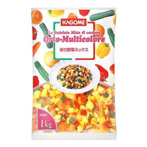 お取り寄せ カゴメ冷凍 地中海野菜グリルのミックス 600gX10P/ケース販売/冷凍野菜