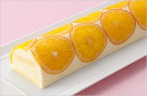 冷凍 ムースオロランジェ半月 幅約7cm×長さ約36cm×高さ約4cm 1ケース(12ヶ入り)ケース販売 スイーツ/ケーキ