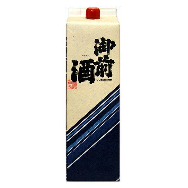 御前酒 佳撰パック 1800ml 日本酒 岡山の地酒