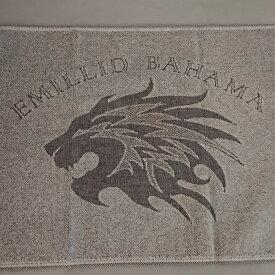 エミリッドバハマ EMILLID BAHAMA オリジナルフェイスタオル日本製約35cm×約85cm