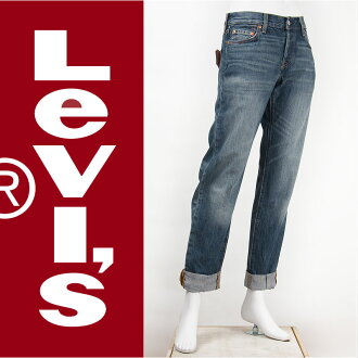 501 501 12,501-0193 Levi's Levis Lady's button fried food regular straight 11oz. denim vintage indigo (ミッドユーズド) Levi's Jeans for Women jeans