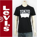 Levi's リーバイス 半袖 グラフィック Tシャツ トーキョー バットウィング ブラック Levi's S/S Tee 17785-0084