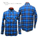 "Sugar Cane(シュガーケーン) ""Twill Check Shirts""L/S WORK SHIRT SC27965-18AWメンズ アメカジ 男性 長袖 シャ…"
