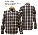 FULLCOUNT(フルカウント)25th Original Ombre Check Nel Shirts【25TH ANNIVERSARY ITEM】 4980EX-3  「Brown」FL-4980EX-3メンズ …