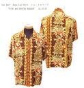 "Sun Surf(サンサーフ)Hawaiian Shirt(アロハ)ショートスリーブ""PINE AND PROTEA BORDER""SS-37137-16SS"