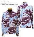 """Sun Surf(サンサーフ)Hawaiian Shirt(アロハ)ロングスリーブ"""" RESTING CRANES ON PINE TREE """"ss-27446-17SSメンズ アメカジ 男性 長袖…"""