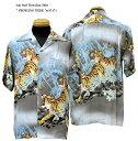 """Sun Surf(サンサーフ)Hawaiian Shirt(アロハ)ショートスリーブ"""" PROWLING TIGER """"ss-37471-17SSメンズ アメカジ 男性 半袖 アロハ"""