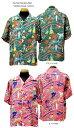 """Sun Surf(サンサーフ)Hawaiian Shirt(アロハ)ショートスリーブ"""" HAWAII CALLS """"ss-37474-17SSメンズ アメカジ 男性 半袖 アロハ"""
