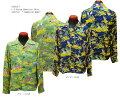 "SunSurf(サンサーフ)HawaiianShirt(アロハ)ロングスリーブ""HAWAIIANHULA""ss-27761-18SS"