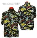 """Sun Surf(サンサーフ)SPECIAL EDITION(スペシャル エディション)Hawaiian Shirt(アロハ)ショートスリーブ""""LAND OF ALOHA DISCOVERD…"""