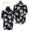 "Sun Surf(サンサーフ)Hawaiian Shirt(アロハ)ショートスリーブ""KABUKI MAKE UP""SS38036-19SS"