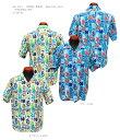 """Sun Surf(サンサーフ) MASKED MARVEL(マスクド マーベル)Hawaiian Shirt(アロハ)半袖コットンシャンタンアロハオープンシャツタイプ""""…"""