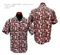 "SunSurf(サンサーフ)MASKEDMARVEL(マスクドマーベル)HawaiianShirt(アロハ)半袖コットンアロハオープンシャツタイプ""TIKIALLOVER""SS38150-19SS"