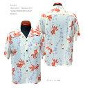 "Sun Surf(サンサーフ) Short sleeve Hawaiian Shirt(半袖アロハ)""GOLD FISH WITH LUCK""SS38314-20SS"