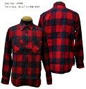 "Sugar Cane(シュガーケーン) ""Twill Check Shirts""L/S WORK SHIRT SC27697-17AWメンズ アメカジ 男性 長袖 シャ…"