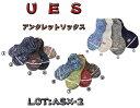 Ues(ウエス) ASX-2 アンクレット ソックスUes- ASX-2-15SS【クリックポスト対応商品】「P」 Ues ウエス 靴下 ソックス