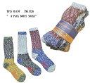 """TOYS McCOY (トイズマッコイ)"""" 3-PACK BOOTS SOCKS"""" TMA1726-17「P」メンズ アメカジ 靴下"""