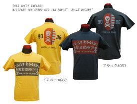 "TOYS McCOY (トイズマッコイ)MILITARY TEE SHIRT 5TH AIR FORCE"" JOLLY ROGERS"" TMC1830「P」メンズ アメカジ 男性 半袖Tシャツ"