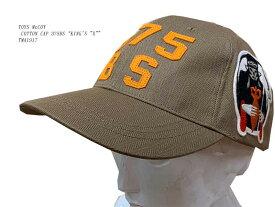 "TOYS McCOY (トイズマッコイ) COTTON CAP 375BS""KING'S ""X"""" TMA1917「P」メンズ アメカジ 男性"