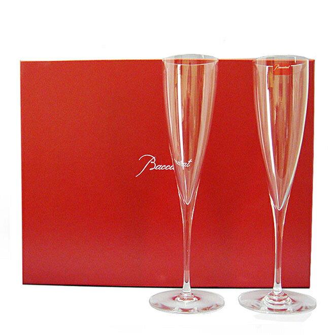 バカラ BACCARAT シャンパンフルート グラス ペア ドンペリニヨン DOM PERIGNON #1845244 【送料無料】