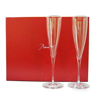 BACCARAT Baccarat Champagne Flute pair Dom Perignon #1845244