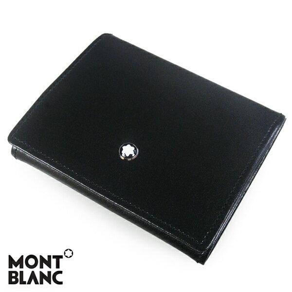 モンブラン MONTBLANC マイスターシュテュック MEISTERSTUCK コインケース 小銭入れ ブラック 14877 【送料無料】
