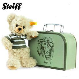 シュタイフ Steiff テディベア レニー イン スーツケース 23cm Lenni Teddy bear in suitcase 111211 スーツケース付き ぬいぐるみ くま 熨斗不可