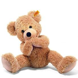 シュタイフ Steiff テディベア フィン ベージュ 40cm FYNN Teddy bear 111679 くま ぬいぐるみ 【熨斗不可】