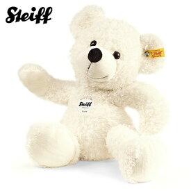 シュタイフ Steiff テディベア ロッテ ホワイト 40cm Lotte Teddy bear 111778 くま ぬいぐるみ 【熨斗不可】
