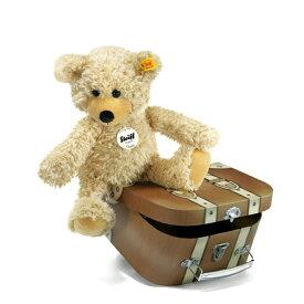 シュタイフ Steiff テディベア チャーリー ダングリング テディベア スーツケース 30cm Charly dangling Teddy bear in suitcase 12938 スーツケース付き くま ぬいぐるみ 熨斗不可