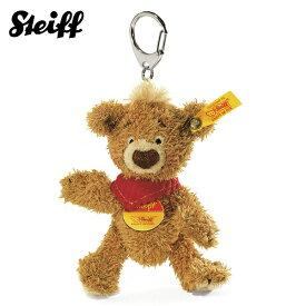 シュタイフ Steiff キーリング テディベア クノップ ブラウン 11cm KNOPF Teddy bear Keyring 14475 くま キーホルダー 【熨斗不可】