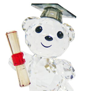 スワロフスキーSWAROVSKIクリスタルフィギュアクリスベアKrisBear-GRADUATIONグラデュエーション卒業#5301572【熨斗不可】
