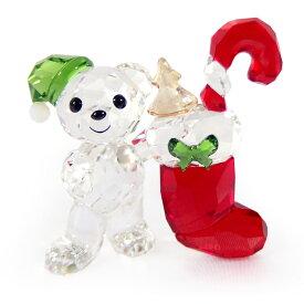スワロフスキー SWAROVSKI クリスタル フィギュア クリスベア Kris Bear クリスマス CHRISTMAS 2020年度限定生産品 #5506812 インテリア 置物 〇 熨斗不可 送料無料