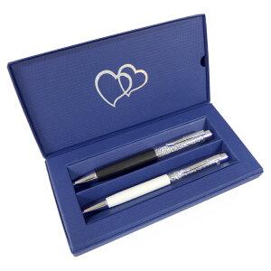 【訳あり/軸部分にモヤ有り】 スワロフスキー SWAROVSKI クリスタル ボールペン Crystalline & Crystalline Lady ボールペン 専用保存箱入り 2本セット 1079441 ギフトボックス 化粧箱 ペア 在庫限り