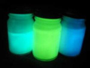 蓄光ペイント グリーン ブルー スーパーブルー 3色セット 高輝度 蓄光塗料 各20ml×3本