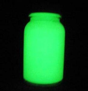 蓄光ペイント グリーン 100ml 蓄光 夜光 高輝度 発光 残光 蓄光塗料