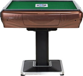 全自動麻雀卓 雀卓 GR33 ブラウン 家庭用 33ミリマージャン牌 1年保証