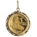 徳力 K24 K18 イエローゴールド ネックレストップ ウォルト・ディズニー 白雪姫誕生50周年記念コイン 金貨 1/10oz【新…