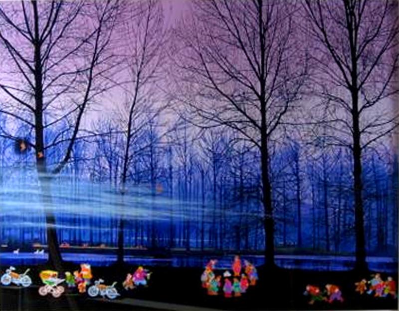 ヒロ・ヤマガタ(山形博導)「スウェーデンの森の物語」 現状フレーム赤札市場