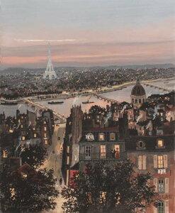 ミッシェル・ドラクロア 最新作「Paris, ma grand ville」Paris, My Grand City 額付版画作品 シルクスクリーン