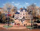 ミッシェル・ドラクロア「村役場の結婚式」-Mariage a la mairie-直筆サイン入り限定版画 リトグラフ選べる新品額付…