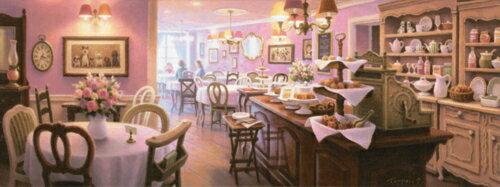 笹倉 鉄平 「お好きな席へどうぞ」As There Are Chairs and Chairs2018年7月リリース キャンバス・ジグレー 額付版画作品【送料無料】