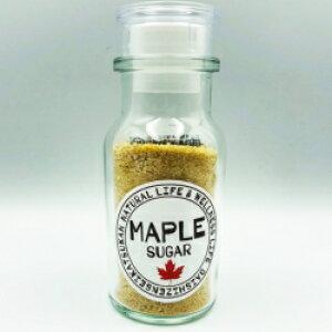 メープルシュガー 40g 顆粒 瓶入り テーブルシュガー 無添加 カナダ産メープル100% 大自然生活館
