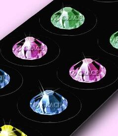 お買い得耳つぼジュエリー 選べる5色 スワロフスキー 人気色 流行色 100粒セット 選べる40色 サイズSS9 SS12 送料無料