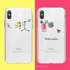 iPhoneケース 11 11Pro XR XSmax X XS 7 8 7Plus 8Plus スマホケース 軽い 薄い ビジネス 可愛い かっこいい シンプル ゴージャス 特別 注目 アップルマーク イラスト 極薄 超スリム 面白い TPU 背面 女子 お揃い プレゼント