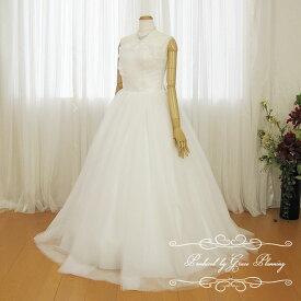 【在庫処分】ウェディングドレス 二次会 白 Aライン ロングドレス 花嫁ドレス ウエディングドレス 18799 WeddingDress 7号9号11号
