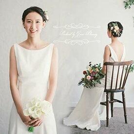 【在庫処分】ウェディングドレス 二次会 白 スレンダーライン ドレス ウエディング 海外挙式にオススメ gcd7000[5号7号9号11号]