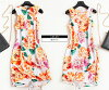 Size 30s 40 generations 50 generations 60 generations wedding ceremony LL 3L 3XL adult of superior grade / party dress others which dress invite dress Lady's floral design class reunion class visit childcare visit knee-length tight slender line has a big