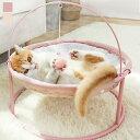 ベッド マット 寝具 その他 ベッド マット 寝具 ベッド カドラー 椅子 チェア サークル 丸型 おもちゃ付き ボア もこもこ 無地 くつろぎアイテム 癒し キュート 猫 愛猫 キャット キャット用
